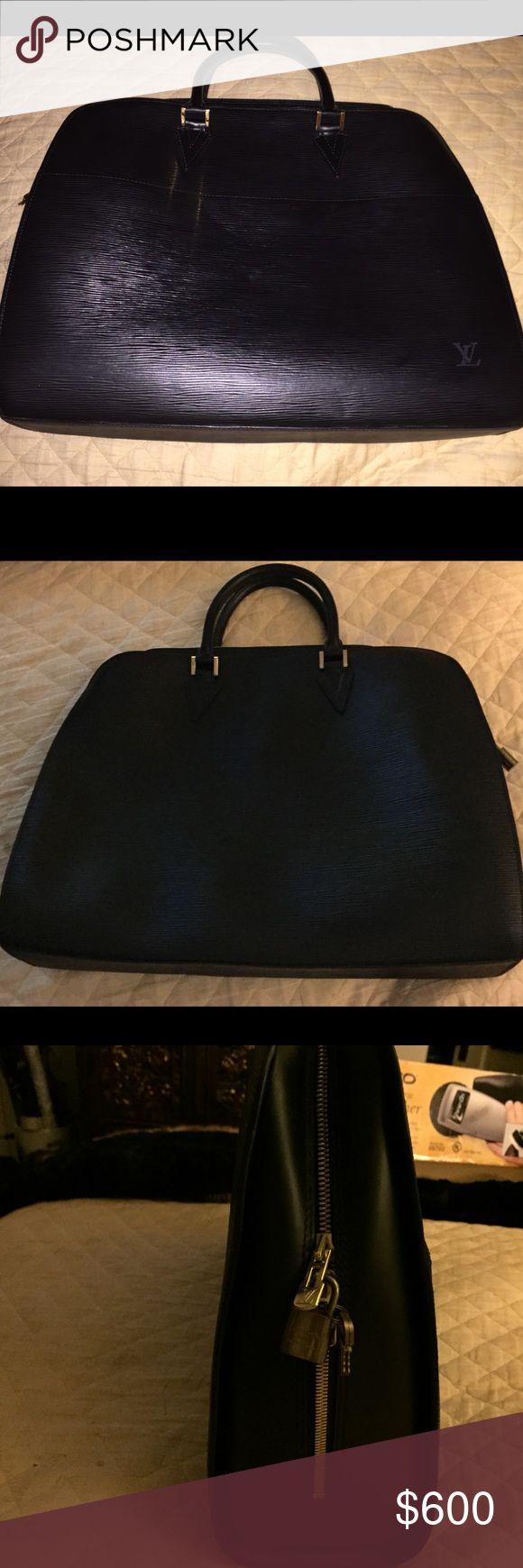 Louis Vuitton Sorbonne Black Authentic buy in Italy Louis Vuitton store years ago Louis Vuitton Bags Laptop Bags
