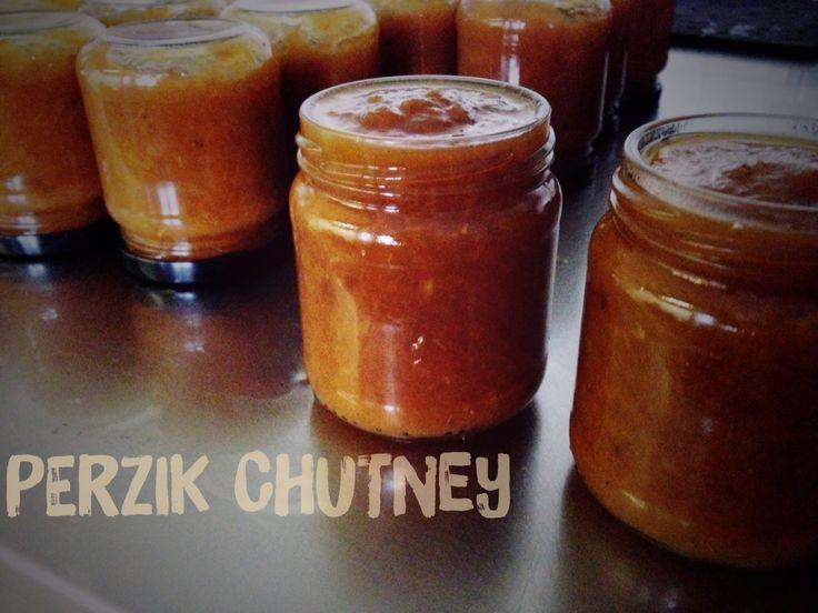 Groot Antink Perzik chutney