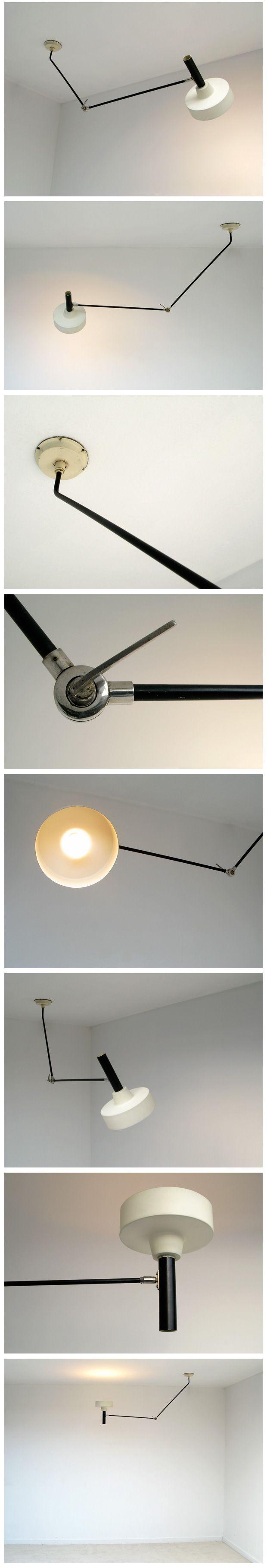 Hoogevorst Anvia industrial ceiling swing lamp