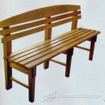 Top 25 Best Garden Bench Plans Ideas On Pinterest Wooden Bench Plans Wooden Garden Benches And Diy Wood Bench