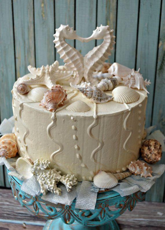 seahorse-wedding-cake by MorganTheCreator on Etsy