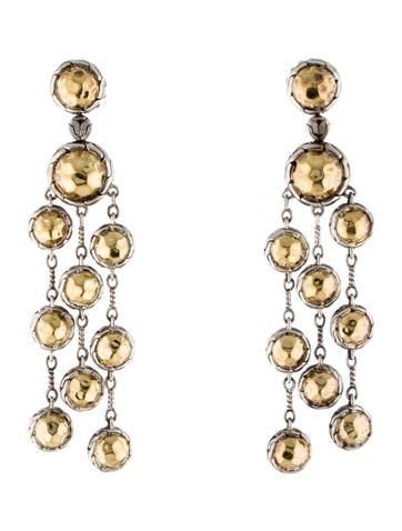 John Hardy Palu Chandelier Earrings