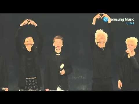 140415 삼성뮤직 Yixing & Kai dance