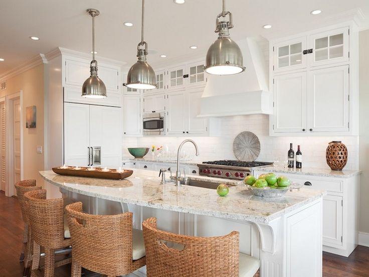 Images Of Granite Countertops With White Cabinets - Polar Cream Granite