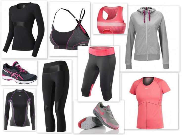Одежда и обувь для тренировок и спорта