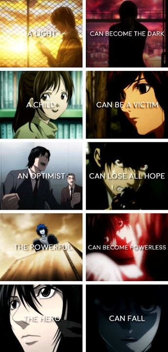 I am Justice. Death Note, this is so sad ;_; L, Matsuda... You poor things