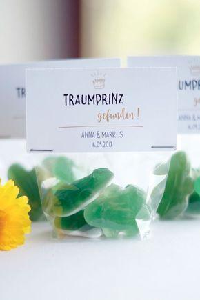 Traumprinz gefunden! Tolles Gastgeschenk für die Hochzeit oder den JGA – Ramona Diebold