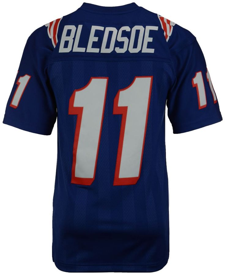 Mitchell and Ness Men's Drew Bledsoe New England Patriots Replica Throwback Jersey