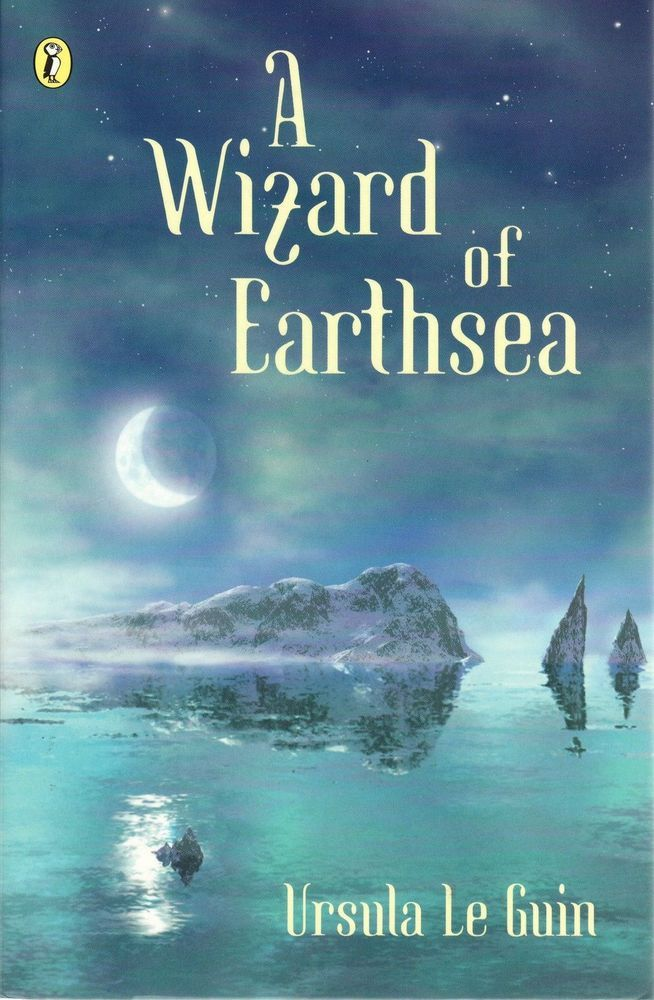 A Wizard of Earthsea by Ursula Le Guin 1971 Paperback Book