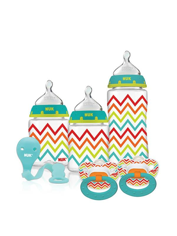 BEST SIPPY CUPS EVER! Chevron Orthodontic Gift Set | NUK