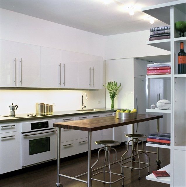 Ikea Open White Kitchen