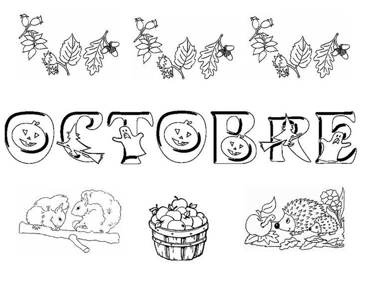 Les 134 meilleures images du tableau coloriage mois de l 39 annee sur pinterest annee coloriage - Coloriage paysage automne ...