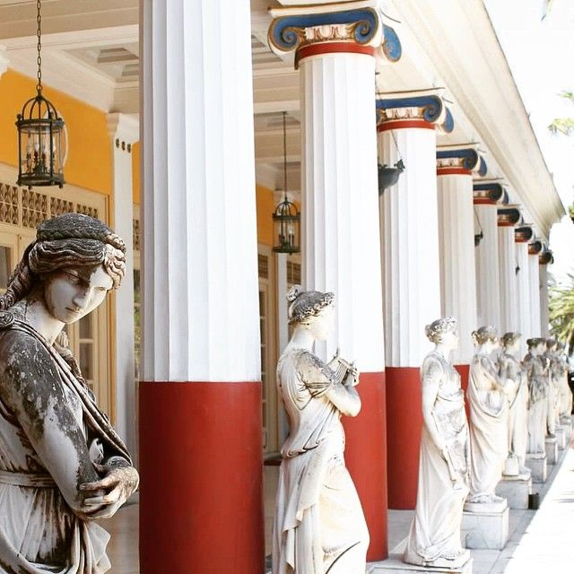 Sisi's palace! #Corfu #Architecture Photo credits: @sashick_