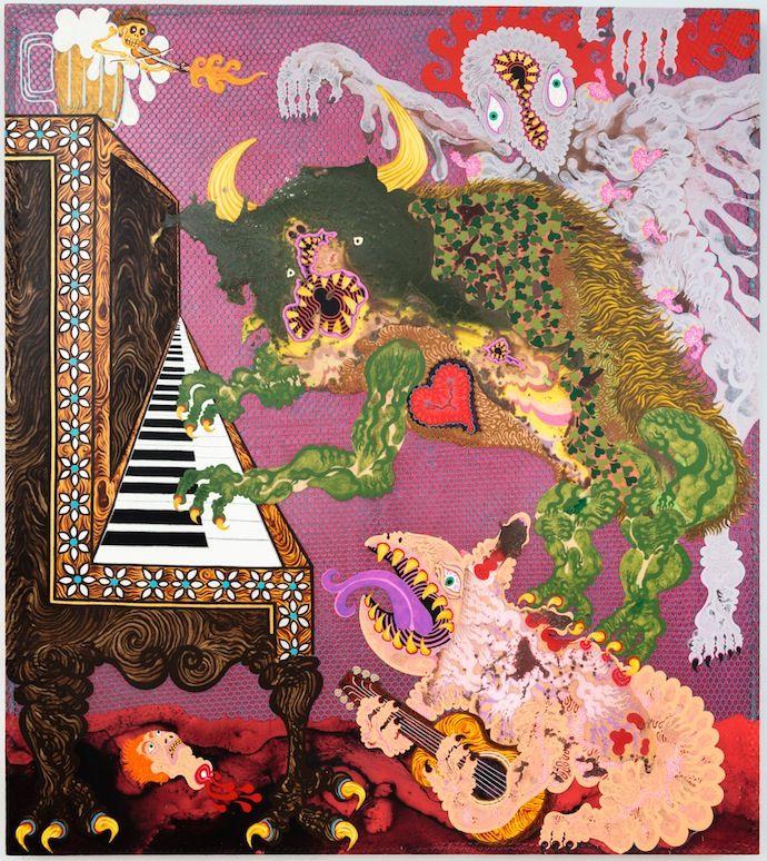 AARON JOHNSON – PAINTINGS #aaronjohnson #paintings #art