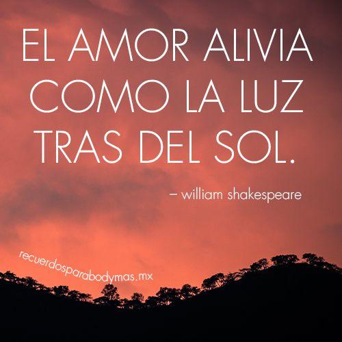 Shakespeare Sobre El Amor Unifeed Club