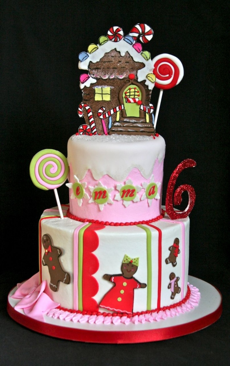 Amazing Gingerbread Party Cake. No pressure.