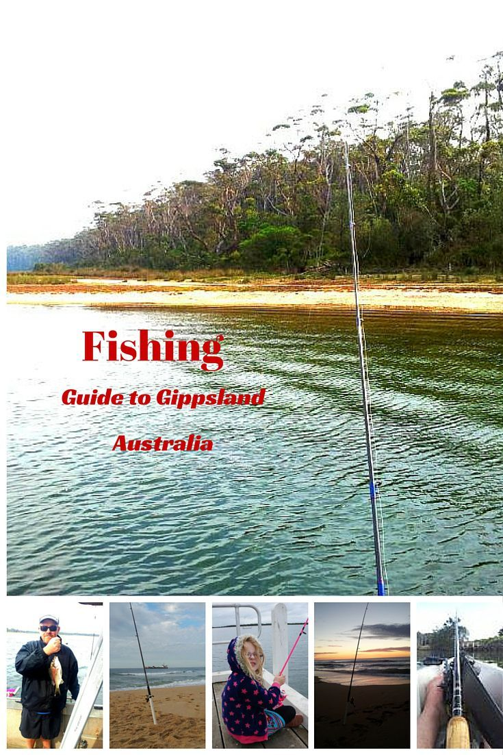 Fishing in Gippsland lakes, 90 Mile Beach and South Gippsland Coast