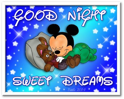 good night sweet dreams quotes cute quote night disney mickey mouse goodnight go…