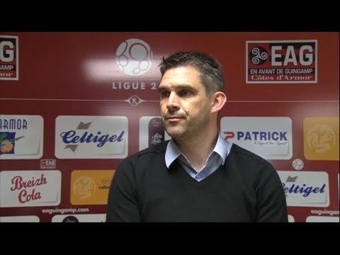 FOOTBALL -  Conférence de presse EA Guingamp - Clermont Foot (0-0) - http://lefootball.fr/conference-de-presse-ea-guingamp-clermont-foot-0-0/
