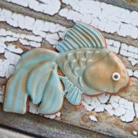 "Cookie cutter ""Goldenfish"""