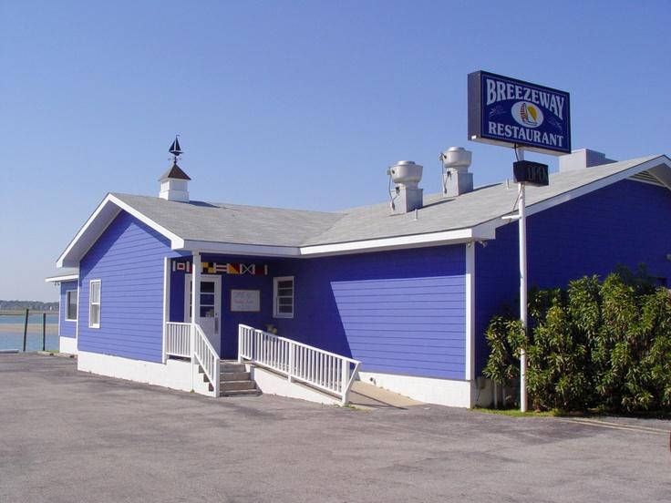 Breezeway Restaurant Topsail Beach North Carolina
