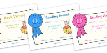 Motivate and inspire your children to work hard and learn well with these fantastic award certificates!