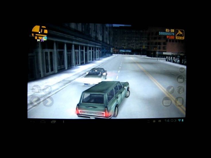 GTA III на Asus Transformer TF101 (+playlist)