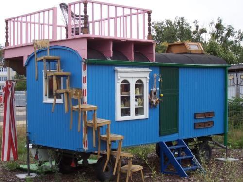 Zirkuswagen oder Bauwagen in Ravensburg