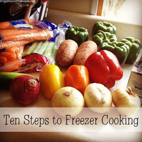 Freezer Cooking | Ring Around the Rosies