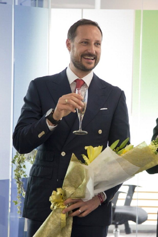Crown Prince Haakon of Norway opens the new office for DNV GL during day 3 of an official visit to Vietnam on 21.03.2014 in Ho Chi Minh City, Vietnam.