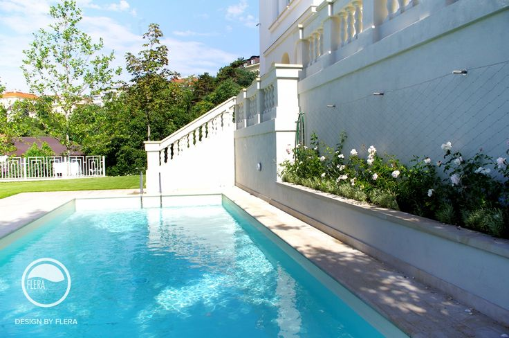 #landscape #architecture #garden #water #feature #swimming #pool #stairs