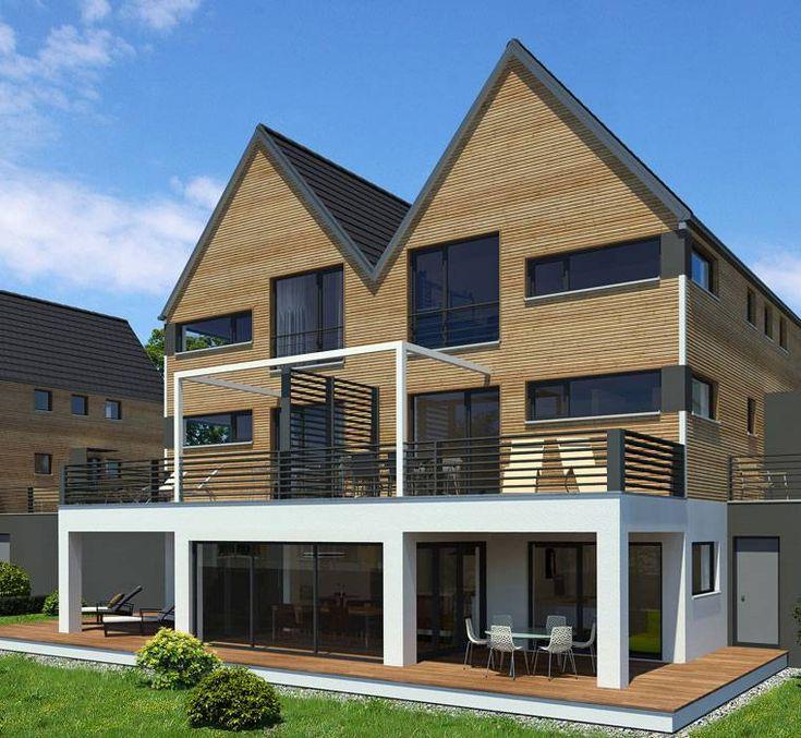 Haus Aufstocken: Baufritz, Entwürfe Für Mehrfamilienhäuser, Haus Im Haus