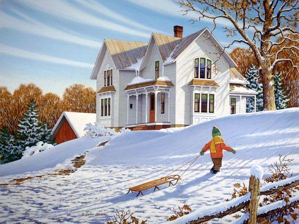 49 Best John Sloane Country Seasons Images On Pinterest