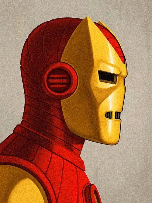 Incríveis ilustrações detalhadas de Heróis e Vilões da Marvel por Mike Mitchell   SuperVault