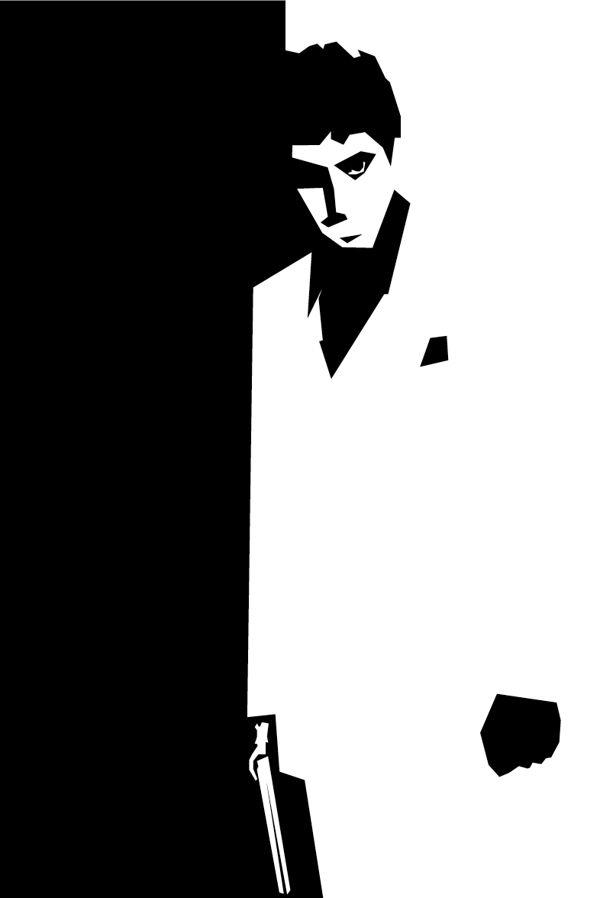 Designlov » Pôsteres minimalistas de filmes ao estilo Saul Bass