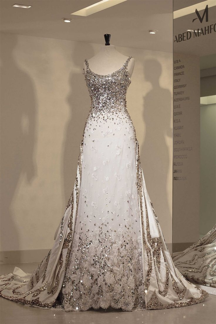 Abed Mahfouz - collection bridal Halima2014 16