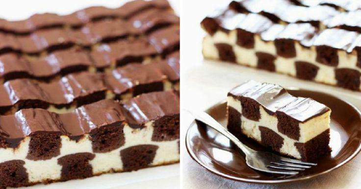 Ha elkészíted ezt a különleges sakk tortát, a konyha királynőjének érzed majd magad, csak 30 percet vesz igénybe! - Bidista.com - A TippLista!