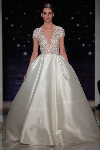Robe de mariée Reem Acra - Bridal Fashion Week 2016 : les plus belles robes de mariée