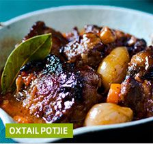 Oxtail potjie