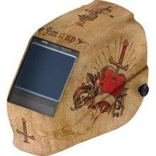 Jackson 30314 HLX Welding Helmet w/TrueSight Digital ADF Tattoo
