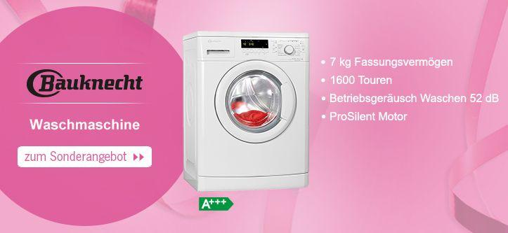Das Wochenangebot zum 60. Geburtstag von Schwab - die klasse #Bauknecht #Waschmaschine zum Jubiläums-Preis
