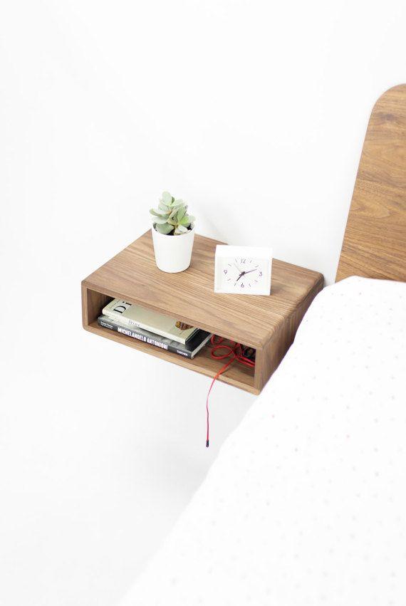 nachttisch fr die wand affordable diy mbel aus u bastelideen fr holz paletten mbel selbst. Black Bedroom Furniture Sets. Home Design Ideas