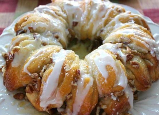 Paula Deen Nutty Orange Coffee Cake