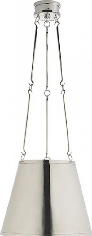 Luminaire / Light fixture., Fini / Finish: nickel poli / polished nickel., 3 x chandelle type B 60w.,  15