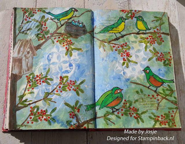 Voetenjosje: uitdaging juni : vogeltjes