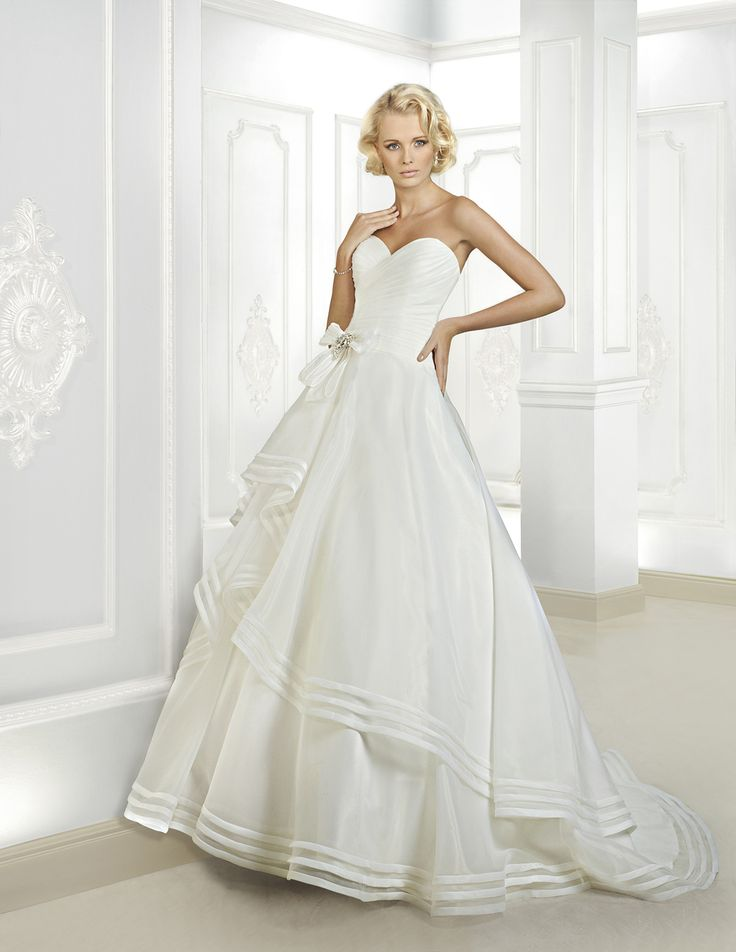 Cute Cosmobella Collection Official Web Site Collection Style Chapel Wedding DressesOrganza