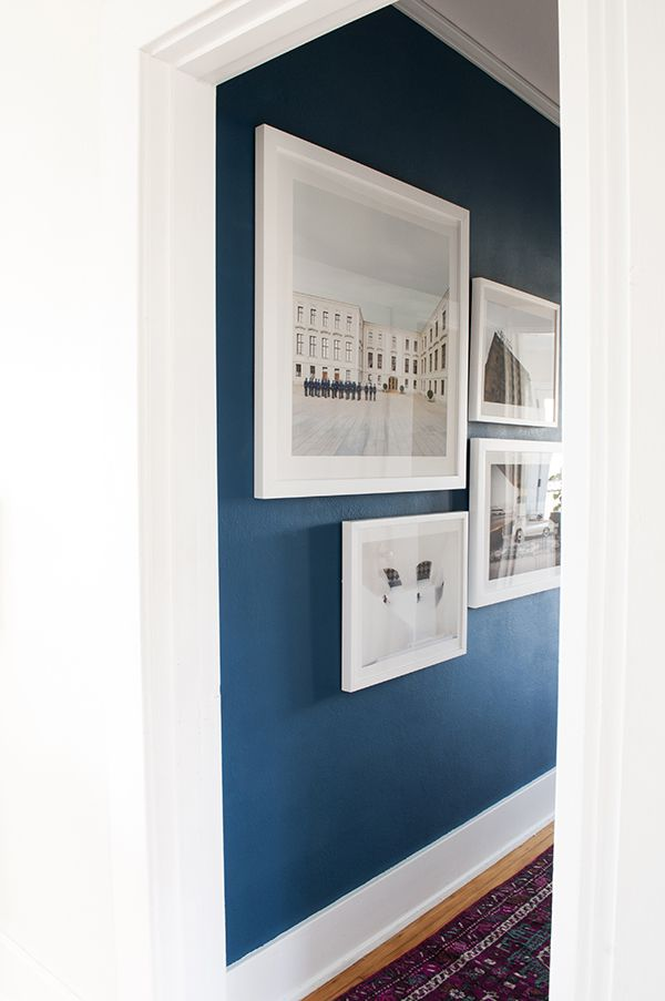 3 easy steps to a dramatic hallway makeover | coco+kelley