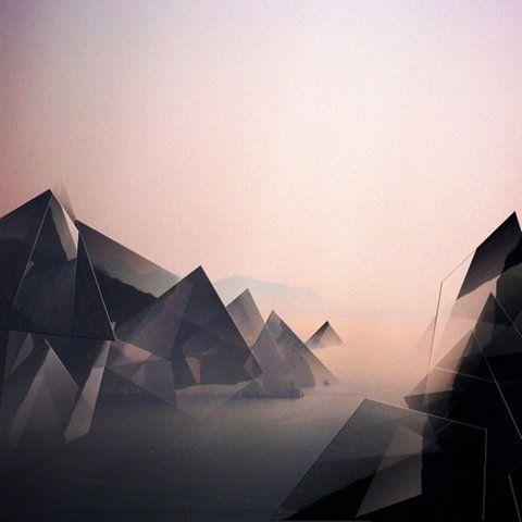 Geometric Landscape Geometric Inspiration Pinterest