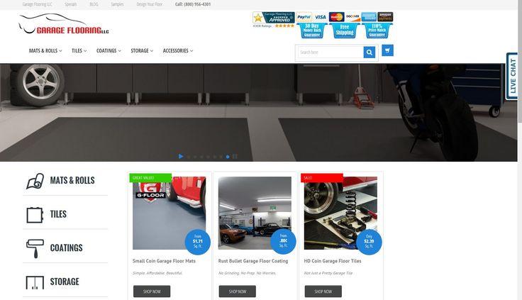 8 best evolution of garage flooring llc images on for Number 1 online shopping site