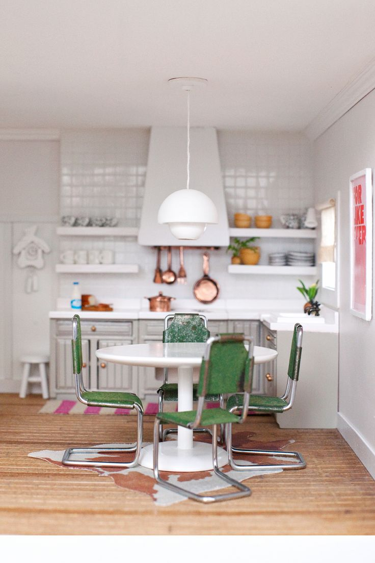 1124 best Miniature Food & Kitchen images on Pinterest | Doll houses ...
